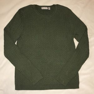 Croft & Barrow Cable Knit Soft Sweater